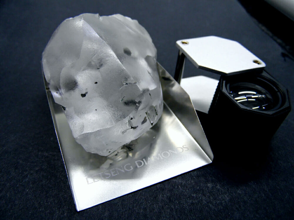 Picture of One of the biggest diamonds in history has just been dug up in southern Africa