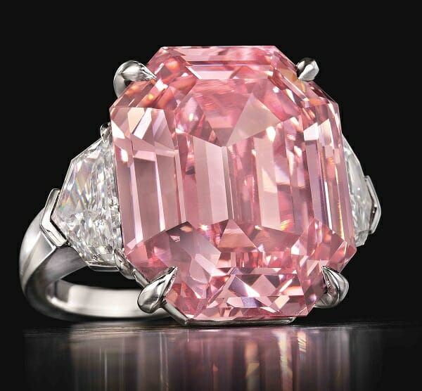 Picture of Christie's 19ct. Pink Legacy Fetches $50M
