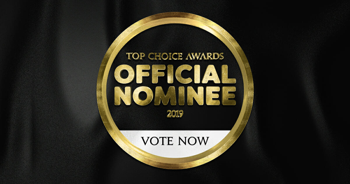 Picture of Top Choice Award Official Nominee 2019