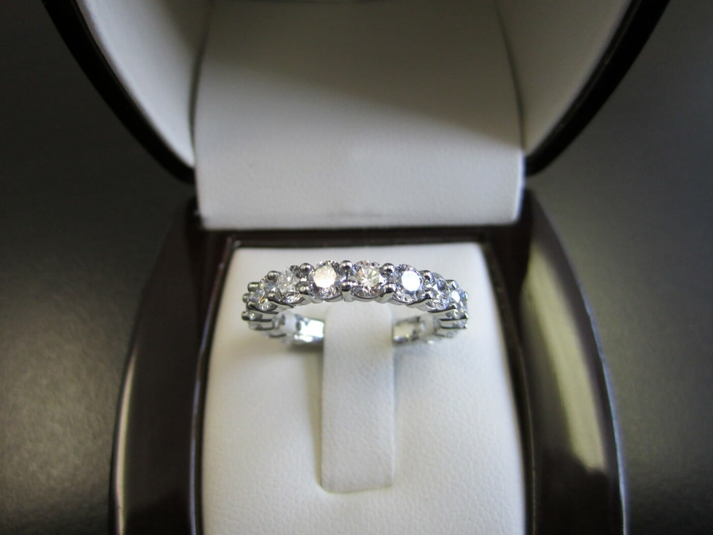 Picture of Custom 19k White Gold Wedding Band